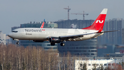 A picture of VPBOW - Boeing 7378Q8 - Nordwind Airlines - © Igor Dvurekov