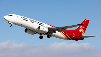 A picture of B1376 - Boeing 73787L - Shenzhen Airlines - © WYANG0520