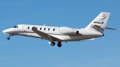 N442LW - Cessna 680 Citation Sovereign Plus - Private