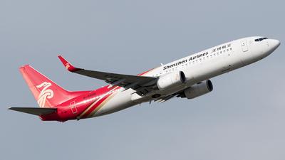 B-5400 - Boeing 737-87L - Shenzhen Airlines