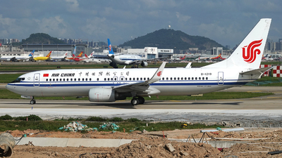 B-1219 - Boeing 737-89L - Air China
