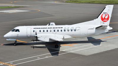 JA03HC - Saab 340B+ - Hokkaido Air System (HAC)