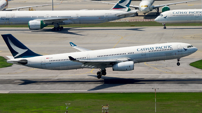 B-LAM - Airbus A330-343 - Cathay Pacific Airways