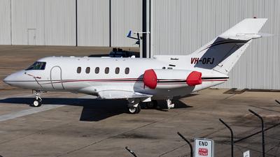 VH-OFJ - Hawker Beechcraft 800XP - Private