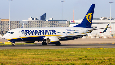 A picture of EIDLI - Boeing 7378AS - Ryanair - © Andre Bonn