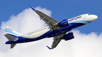 A picture of VTIJC - Airbus A320271N - IndiGo - © Jubilant Chan - AHKGAP