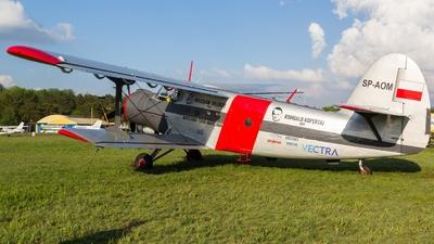 SP-AOM - PZL-Mielec An-2P - Aero Club - Dolnoslaski