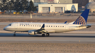 A picture of N745YX - Embraer E175LR - United Airlines - © DJ Reed - OPShots Photo Team