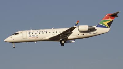 ZS-NMG - Bombardier CRJ-200ER - SA Express