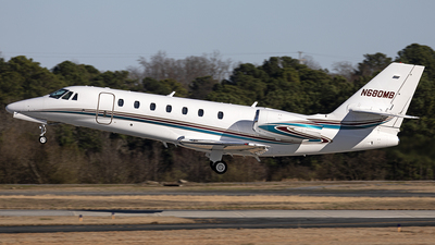 N680MB - Cessna 680 Citation Sovereign - Private