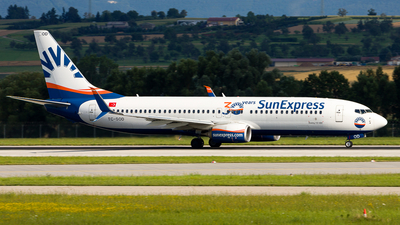 A picture of TCSOD - Boeing 7378HC - SunExpress - © Chr Pe
