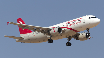 SU-AAB - Airbus A320-214 - Air Arabia Egypt
