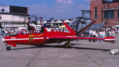 MT31 - Fouga CM-170 Magister - Belgium - Air Force