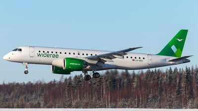 LN-WEC - Embraer 190-300STD - Widerøe