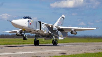 RF-93807 - Sukhoi Su-24M Fencer D - Russia - Air Force