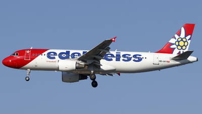 A picture of HBIHY - Airbus A320214 - Edelweiss Air - © Borut
