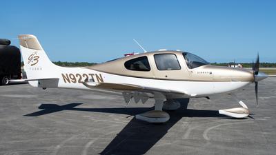 N922TN - Cirrus SR22 G3 Turbo GTS - Private