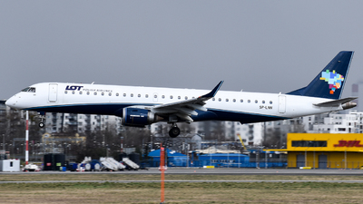 SP-LNN - Embraer 190-200IGW - LOT Polish Airlines