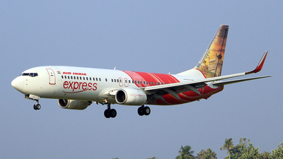 VT-AXJ - Boeing 737-8HJ - Air India Express