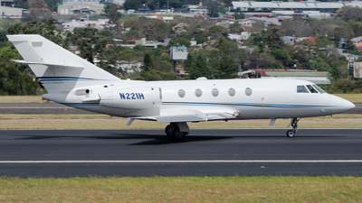 A picture of N221H - Dassault Falcon 20 - [461] - © Degupukas