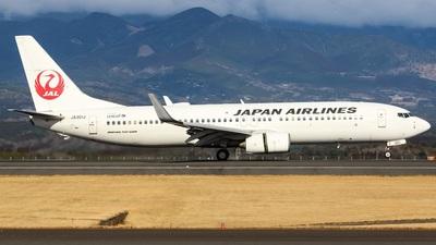 A picture of JA301J - Boeing 737846 - Japan Airlines - © Koki.Ishida