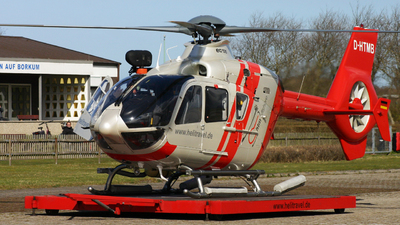 A picture of DHTMB - Airbus Helicopters H135 - HTM Helicopter Travel Munich - © Leon Knipp