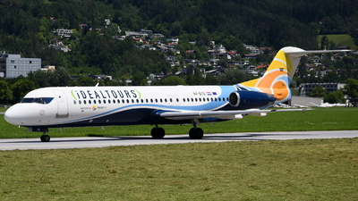 A picture of 9ABTE - Fokker 100 - Trade Air - © Maximilian Gruber