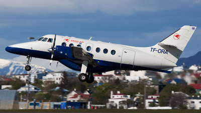A picture of TFORA - BAe Jetstream 32 - Eagle Air Iceland - © Fabian Zimmerli