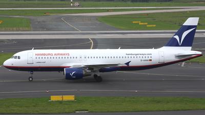 D-AHHH - Airbus A320-214 - Hamburg Airways
