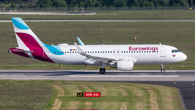 A picture of DAIZT - Airbus A320214 - Eurowings - © Paul Buchröder