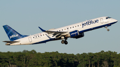 A picture of N279JB - Embraer E190AR - JetBlue Airways - © Positive Rate Photography