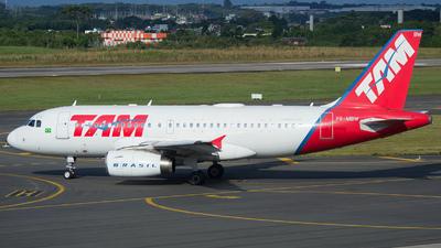 PR-MBW - Airbus A319-132 - TAM Linhas Aéreas