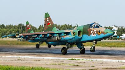 23 - Sukhoi Su-25 Frogfoot - Belarus - Air Force