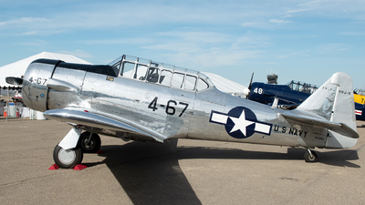 N3326G - North American AT-6D Texan - Private