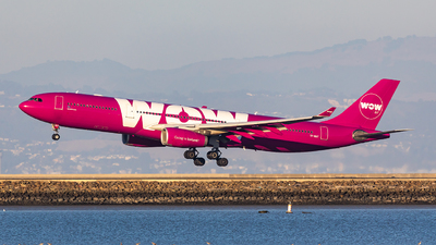 TF-GAY - Airbus A330-343 - WOW Air