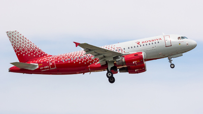 VP-BWG - Airbus A319-111 - Rossiya Airlines