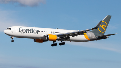 A picture of DABUS - Boeing 76738E(ER) - Condor - © kevin.hackert