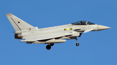 ZJ927 - Eurofighter Typhoon F.2 - United Kingdom - Royal Air Force (RAF)