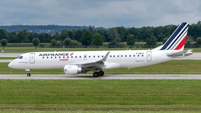 A picture of FHBLQ - Embraer E190STD - Air France - © Sebastian Thiel