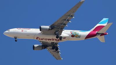 D-AXGA - Airbus A330-203 - Eurowings