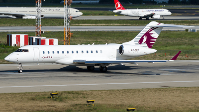 A7-CEF - Bombardier BD-700-1A10 Global Express XRS - Qatar Executive