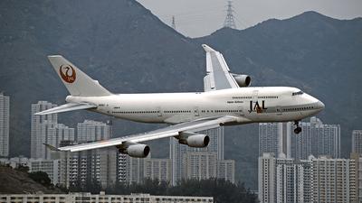 JA8911 - Boeing 747-446 - Japan Airlines (JAL)