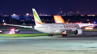 ET-AOU - Boeing 787-8 Dreamliner - Ethiopian Airlines