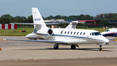 OO-GLM - Cessna 680 Citation Sovereign - Air Service Liège (ASL)