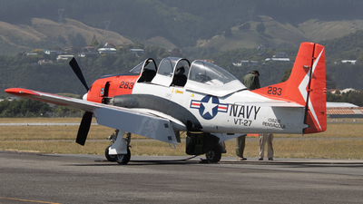 ZK-TGN - North American T-28B Trojan - Private