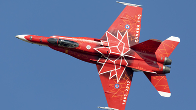 188734 - McDonnell Douglas CF-188 Hornet - Canada - Royal Canadian Air Force (RCAF)