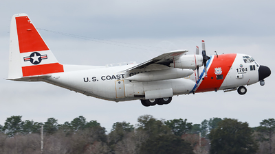 1704 - Lockheed HC-130H Hercules - United States - US Coast Guard (USCG)
