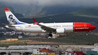 LN-BKD - Boeing 737-8 MAX - Norwegian