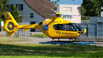 HB-ZJE - Eurocopter EC 135P1 - Touring Club Suisse (TCS)