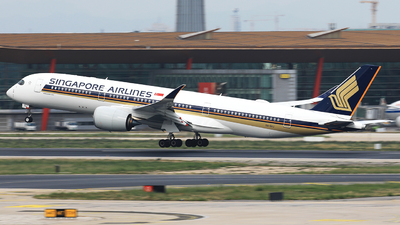 9V-SHJ - Airbus A350-941 - Singapore Airlines